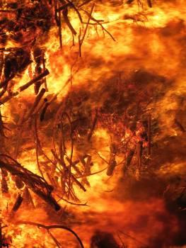 Conflagration destruction easter fire fire Free Photo