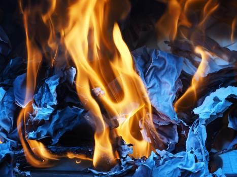Ash burn combustion fire #74226