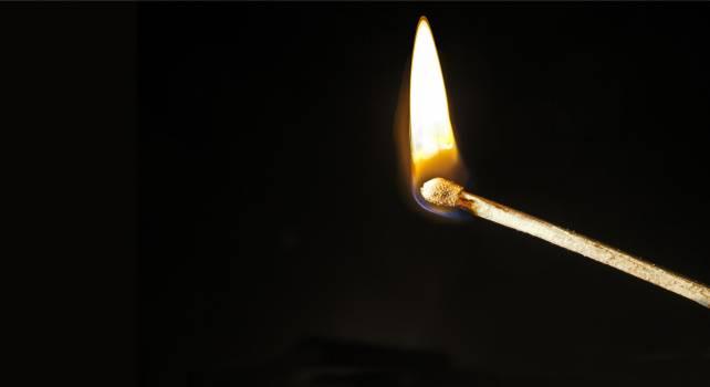 Black burn close fire Free Photo