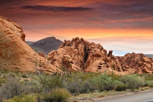 Arid canyons desert destination #74416