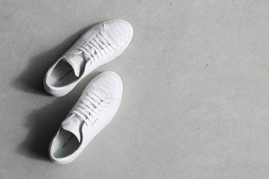 Footwear shoes white Free Photo