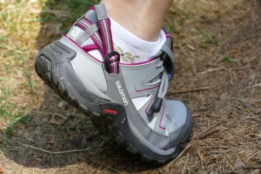Foot hiking shoe sports shoes Free Photo