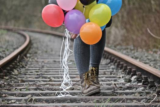 Balloons boots colorful colourful #75167