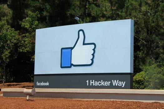 1 hacker way facebook i like logo #75266