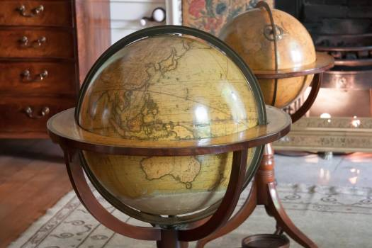 Antique georgian globe home #75420
