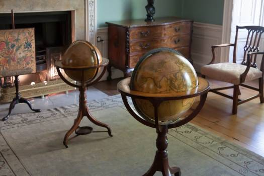 Antique chair georgian globe #75421
