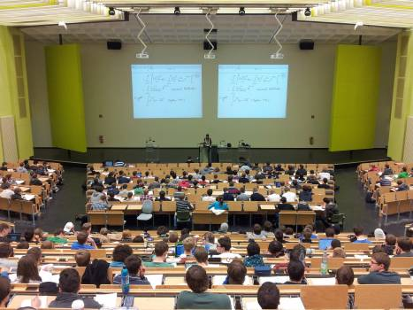 Campus class classroom college #75450