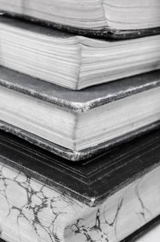 Ancient black book bookshelf #75459