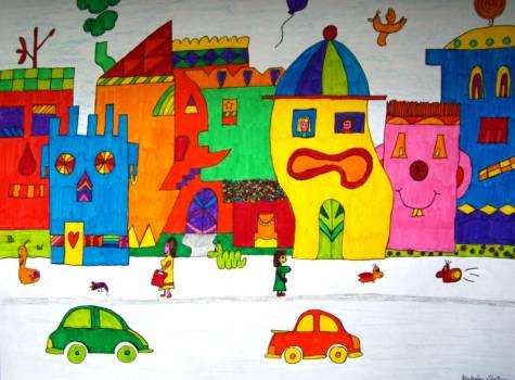 Color colorful felt tip pens image #75671