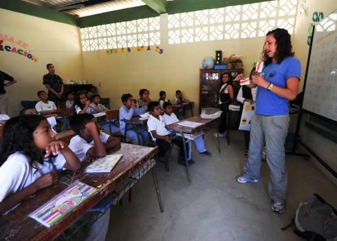 Boys chairs classroom ecuador #75701