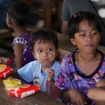 Burma children classroom girl #75705