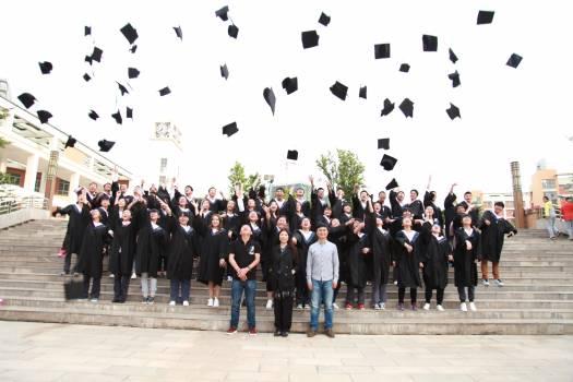 Celebrations excited finish graduation #75743