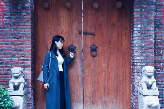 Ancient architecture asia door entrance #75744