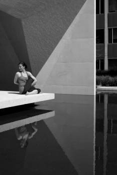 Exercise female fitness woman girl #75785