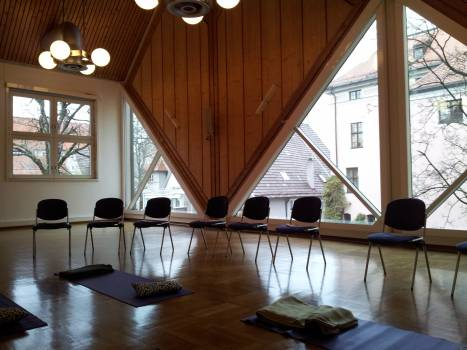 Meditation seminar room yoga room #75867