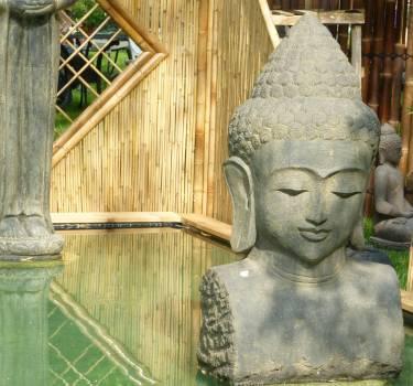Buddha buddhism bust decor #76052