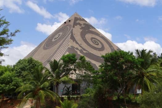 Giant pyramid india karnataka meditation #76087