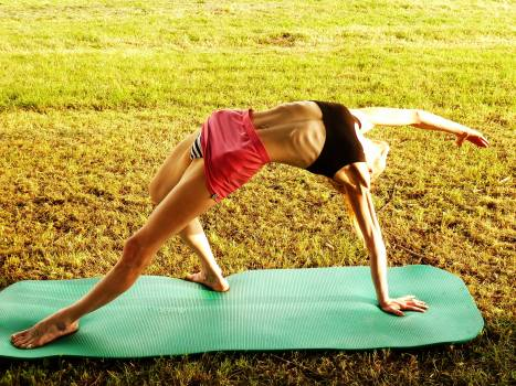 Gymnastics woman yoga #76090