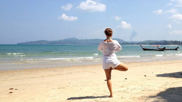 Adult balance beach beautiful #76093