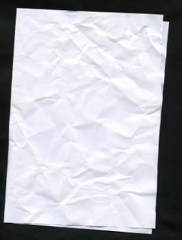 Crumpled up leaf paper #76271