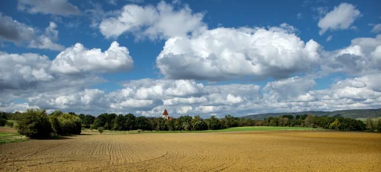 Austria autumn clouds field #76385