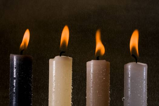 Candlelight candles flame light Free Photo