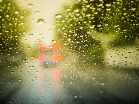 Bad weather beaded glass rain Free Photo