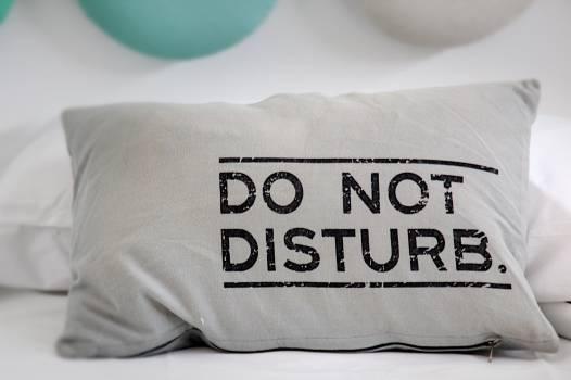 Break meditation pillow recovery Free Photo