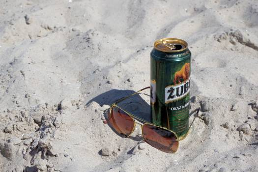 Baltic sea beach beer holiday #76955