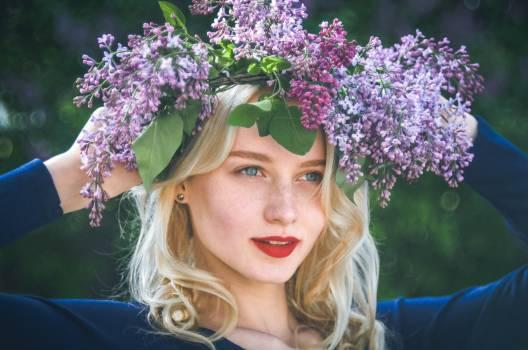 Camera curls fine flower #77081