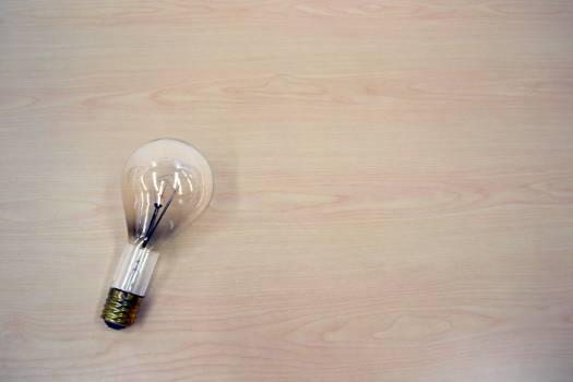 3d bright brilliant bulb Free Photo