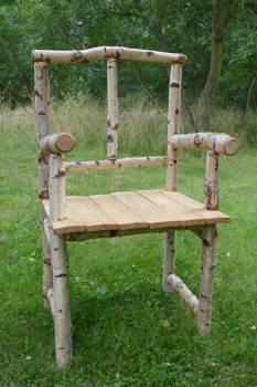 Ancient birch chair furniture #77230