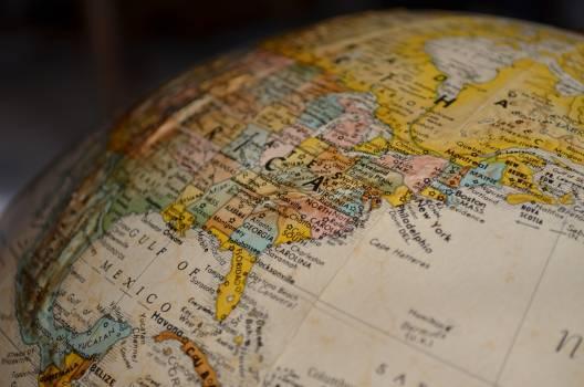 Atlas ball shaped business compass #77419