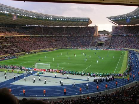 Berlin olympic stadium crowds football football match #77831