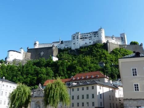 Austria battlements castle crowd puller #77846
