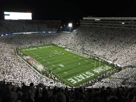 Crowd football penn state stadium #77982