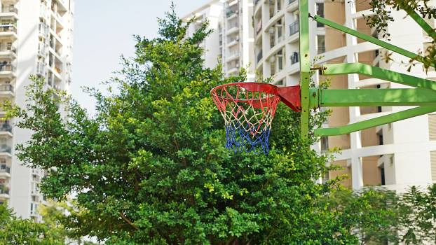 Basketball community green leisure and entertainment Free Photo