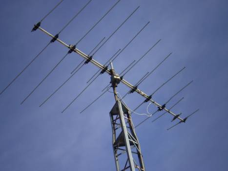 Aerial analog antenna broadcast #78263