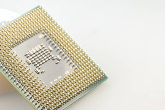 Board calculator chip circuits Free Photo