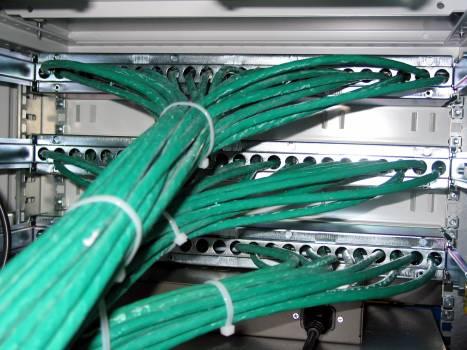 Cable data processing edp hardware Free Photo