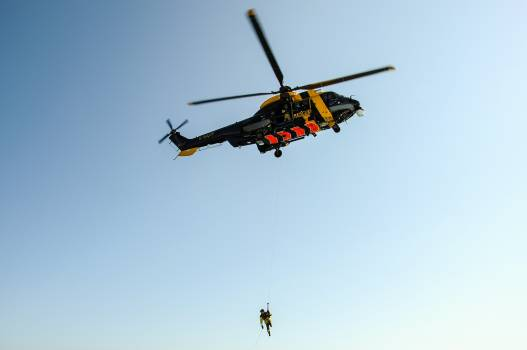 First help rescue helicopter Free Photo