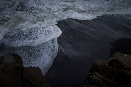 Water Foam Sea Free Photo