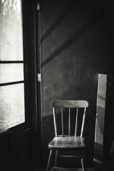 Chair dark room #79393