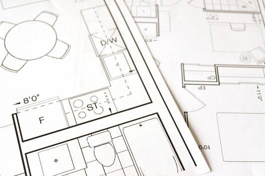 Architect architecture blueprint build Free Photo