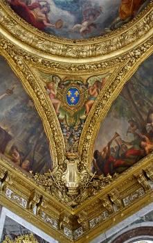 Castle ceiling decor golden #79482