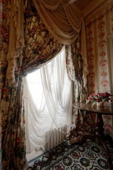 Curtain decor drapes fabric Free Photo