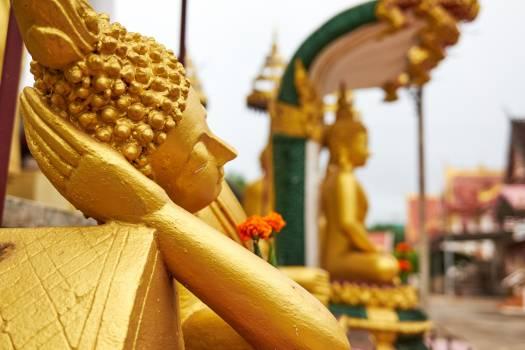 Buddha buddhism golden laos Free Photo