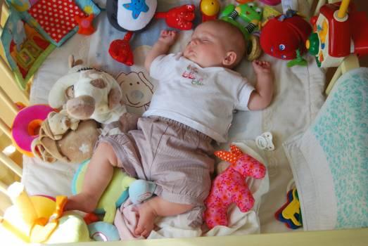 Baby child people sleep Free Photo