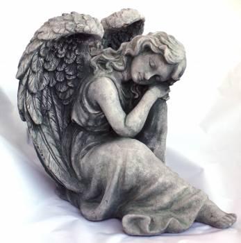 Angel dreaming faith fig Free Photo