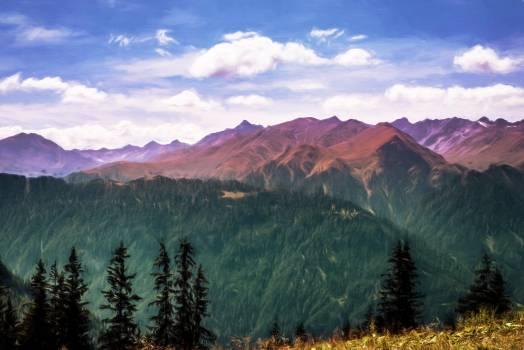 Image landscape mountains nature #79950